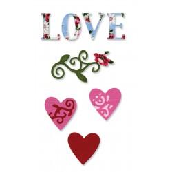 Sizzlits Love Set #3