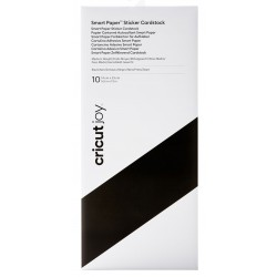 Cricut Joy Smart Paper Sticker Cardstock Black
