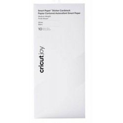 Cricut Joy Smart Paper Sticker Cardstock White