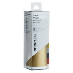 Cricut Joy Smart Vinyl 5 x 13.9 x 30.4 cm Removable Elegance Sampler