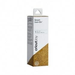 Cricut Smart Iron On 13.9 x 48.2 cm Glitter Gold