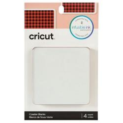 Cricut Blank Coaster Square 4 pcs
