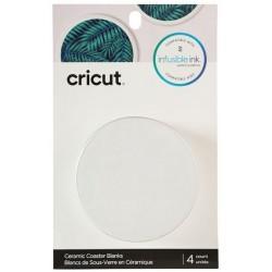 Cricut Blank Coaster Round 4 pcs
