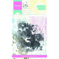 Marianne Design Texture Stamps Tiny's Water Colour