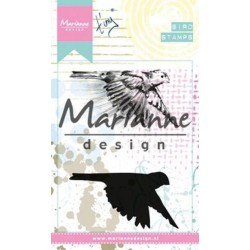 Marianne Design Cling Stamps Tiny's Bird