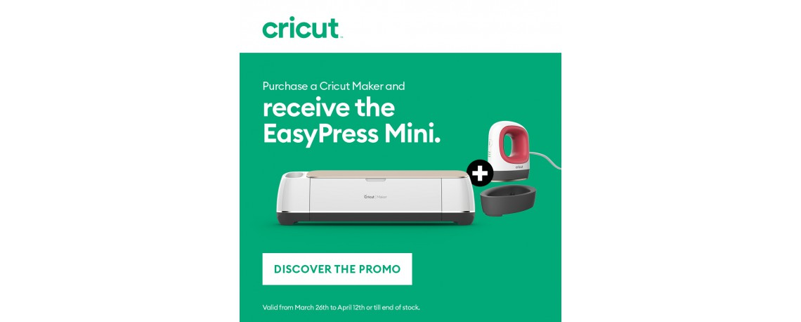 Cricut Maker Eastern Promotion